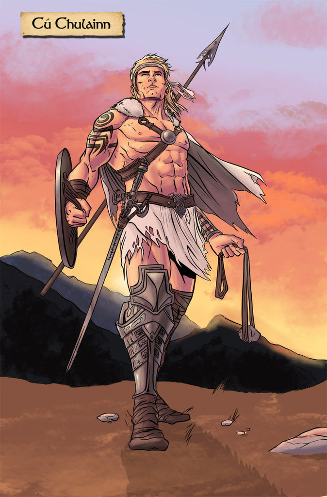 Before There Was The Incredible Hulk, There Was Cú Chulainn: The Superhuman Of Irish Myth 🔗