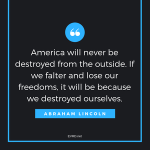 America Will Never Be Destroyed...