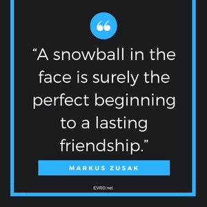 Snowball in the Face...