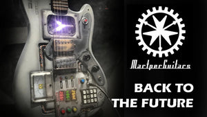 Custom Made Back to the Future Guitar 🎥