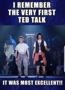 The First TED Talk