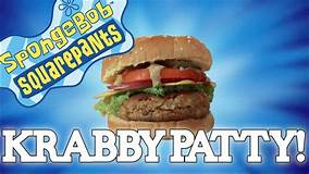 How to make the KRABBY PATTY from Spongebob Squarepants 🎥