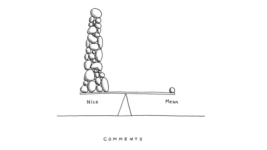 Comments: Nice vs Mean