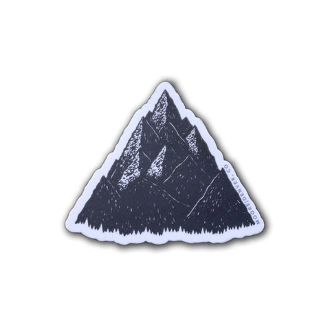 High Peak Sticker