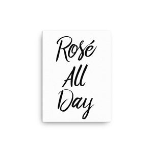 Rose All Day Canvas