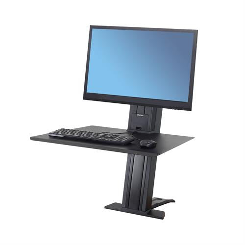 Ergotron Workfit-SR Single Monitor, Sit-Stand Desktop