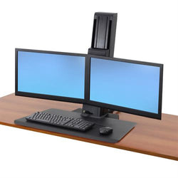 Ergotron Workfit-SR Dual Monitor Short Surface