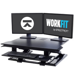 Ergotron Workfit-TX (with adjustable keyboard tray)