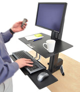 Ergotron WorkFit-S Sit-Stand Combo - 24""