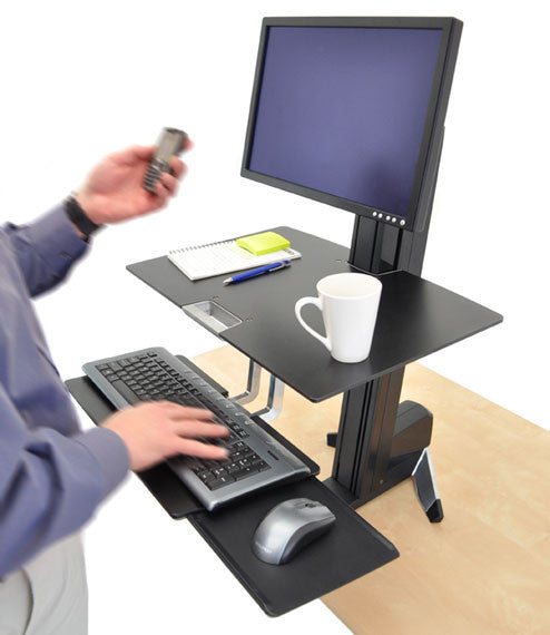 Ergotron WorkFit-S Sit-Stand Combo - 24