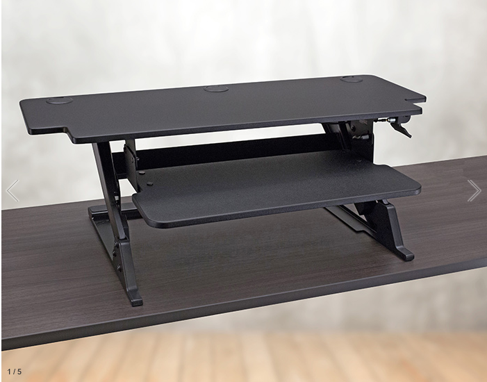 Solace HD Desktop Standing Desk Converter