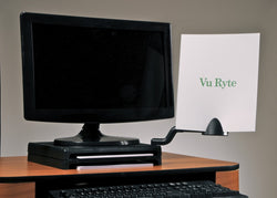 Vu Ryte Monitor Riser w/ Document Holder