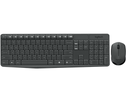 Logitech Wireless Keyboard and Mouse MK235