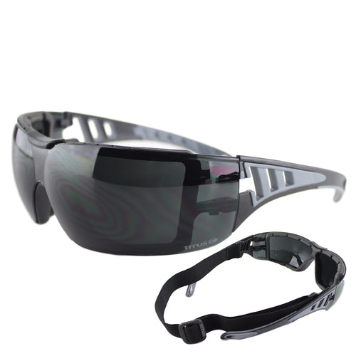Titus G31 Motorcycle Snowboarding High Wind Goggles - Sports Riders Safety Glasses