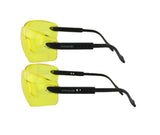 Titus G2 Retro 80s Adjustable Stem Safety Glasses