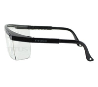 Titus G6 Edge Safety Glasses Lab Shooting Eyewear Motorcycle Eye Protection ANSI Z87