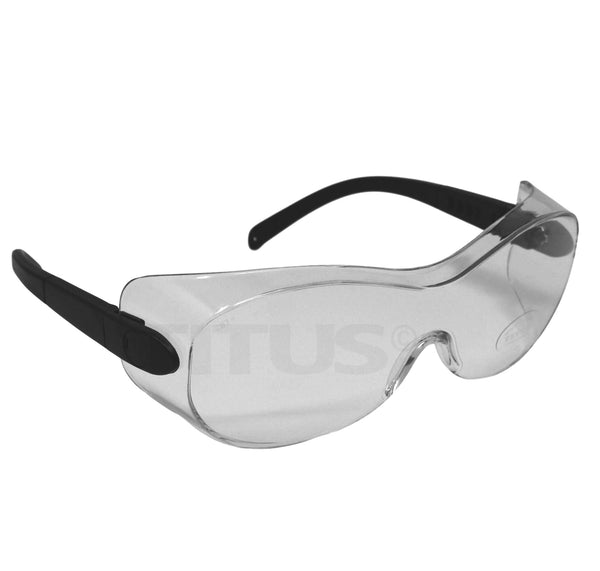G7 Clear - Professional Safety Glasses With Fully Adjustable Ratcheting And Extending Stems