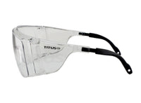 Titus G13 - Fit over Rx glasses (OTG) ANSI Z87 rated safety glasses