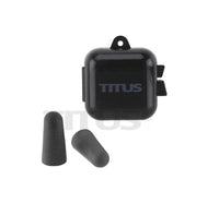 TITUS 32dB NRR Individually-Wrapped Pairs of Memory Foam Earplugs Multi-Pack