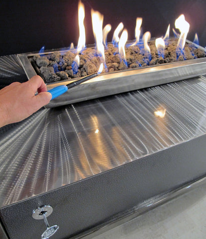 Should I Burn Natural Gas or Propane In My Fire Table?