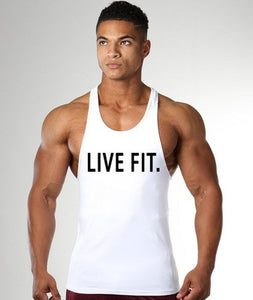 Men's Fitness Muscle Y back - Live Fit