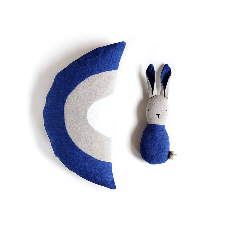 DUO LAPIN ET COUSSIN