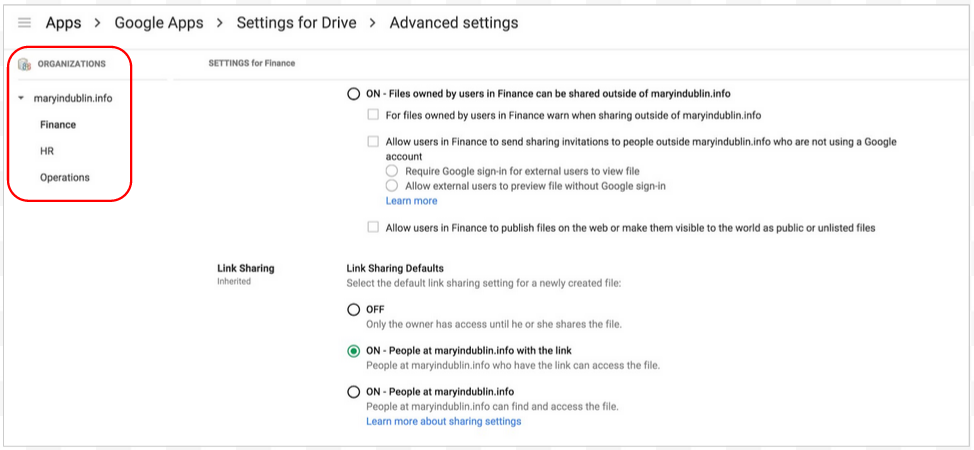 Share Google Drive links outside of your domain [Mar/Apr