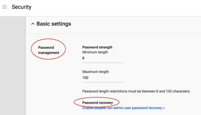 New Hangouts settings and password recovery updates hit Google Apps