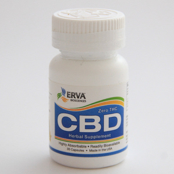 Erva Bioscience Zero THC Highly Bioavailable Cannabidiol (CBD) Hemp Oil