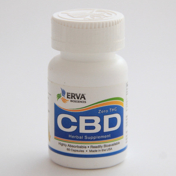 Erva Bioscience Zero THC Highly Bioavailable Cannabidiol (CBD)
