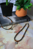 Gemini Necklace (Gunmetal)