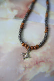 Sagittarius Necklace (Gunmetal)