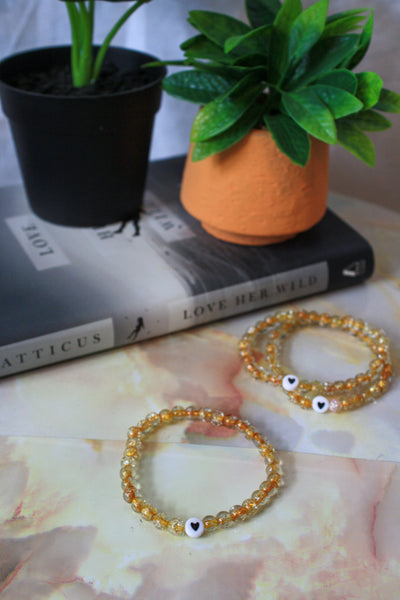 Maarika Bracelet (Yellow / Black)