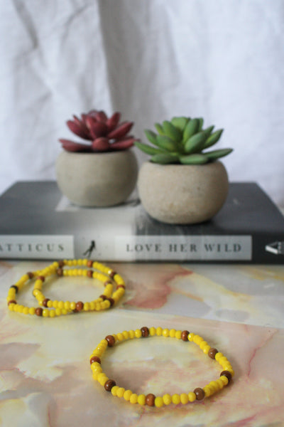 Qamar Bracelet (Yellow)