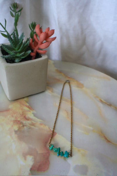 Sabella Necklace (Howlite)