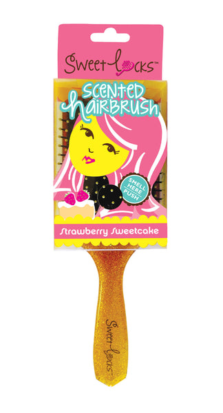 Strawberry Sweetcake Scented Hairbrush