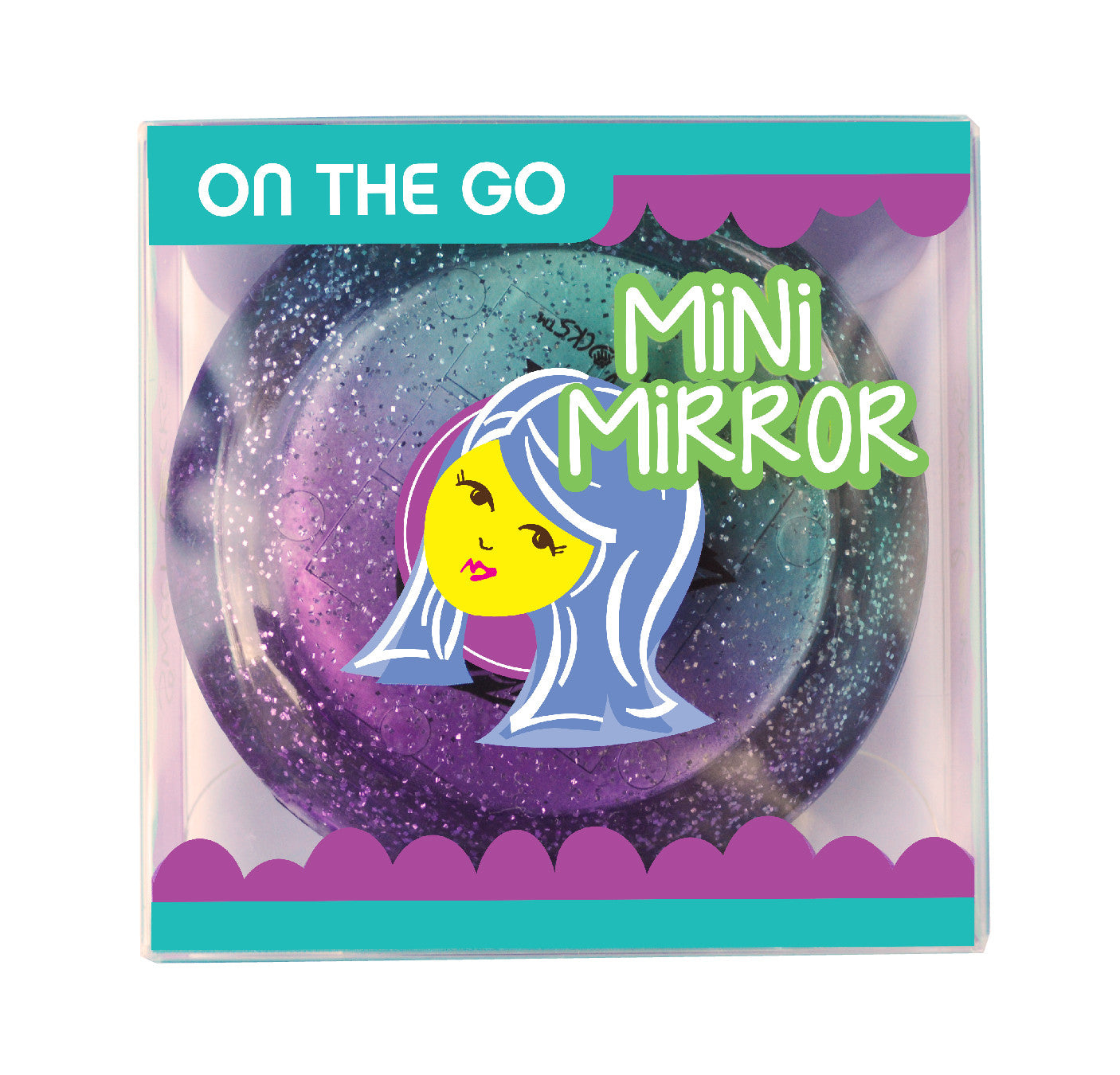 Goody Goody Grape Drop Mini Mirror