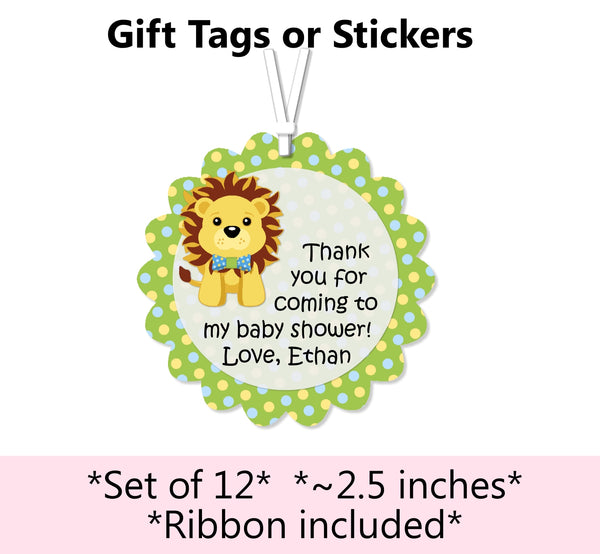 Blue Boy Lion King Baby Shower Decorations