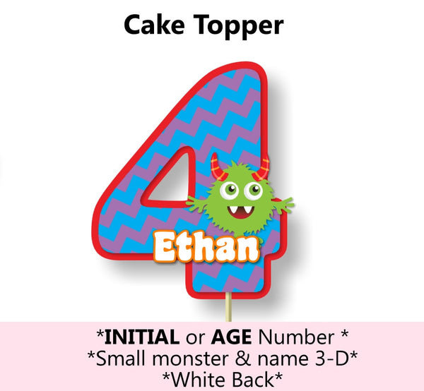 Monster Birthday Party Decorations