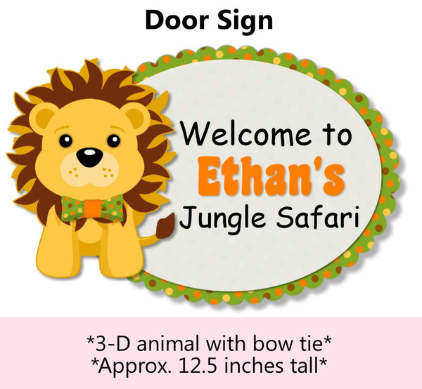 Jungle Safari Birthday Party Hat