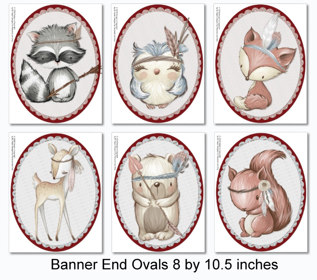 picture regarding Printable Woodland Animals called Woodland Animal Themed Boy or girl Shower Decorations - Printable Immediate Obtain - Banner, Centerpiece, Cupcakes, Thank On your own, Game titles