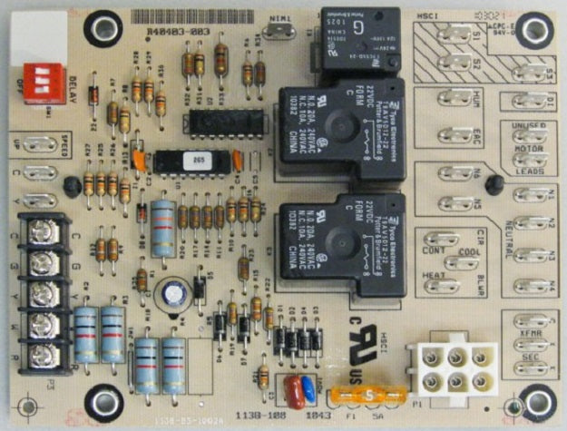 CONTROL BOARD - ARMSTRONG 40403-003 R40403-003 Replaces R40403-001, R40403-002, Ducane 20054501,20054502 & Honeywell ST9120A B or C blower controls.