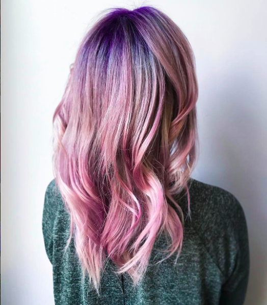 GEODE HAIR IS THE NEWEST SPRING TREND