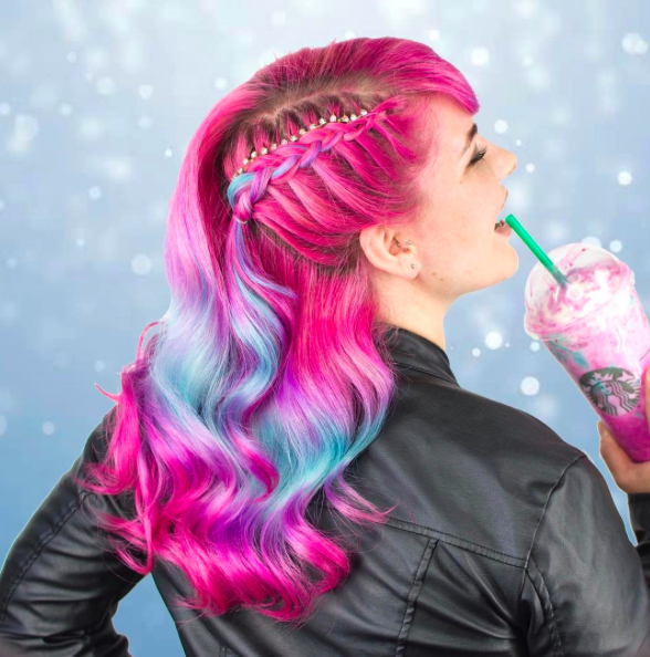 FROM FRAPPE TO FAB: UNICORN FRAPPUCCINO- INSPIRED HAIR COLORS
