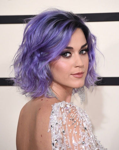 Katy Perry's Short Purple Bob | FoxyBae