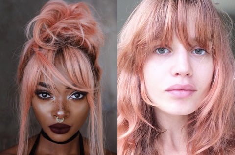 Rose Gold: A Popular 2017 Hair Color Trend | FoxyBae