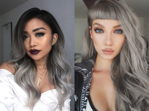 Gray/Silver Hair: 2017 Hair Color | FoxyBae