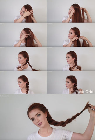 Rope Braid Hairstyle | FoxyBae