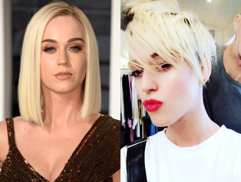 Katy Perry Short Haircut