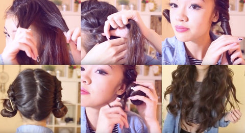 How to Curl Hair Without Heat | FoxyBae